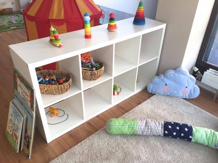 Spielecke und Teppich | Kita Lake Side Kids Zürich